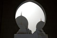 Abu dhabi gran mosque Royalty Free Stock Images