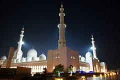 Abu Dhabi Grand Mosque Immagine Stock Libera da Diritti
