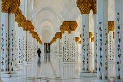 Abu Dhabi Grand Mosque. Sheikh Zayed Grand Mosque in Abu Dhabi stock photos