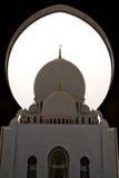 Abu Dhabi granmoské Royaltyfria Foton