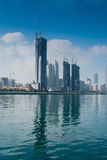 Abu Dhabi high-rise Stock Photos