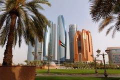 Abu Dhabi ' Hoch-Aufstiege s Corniche Stockfoto