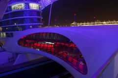 ABU DHABI - HOTEL DO PORTO DE YAS Imagem de Stock
