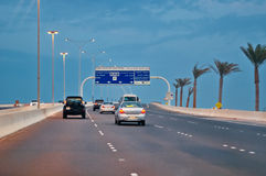 Abu Dhabi huvudstaden av UAE Fotografering för Bildbyråer
