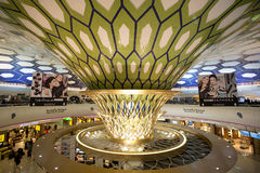 Abu Dhabi International Airport terminal Photo libre de droits