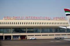 Abu Dhabi International airport Stock Images