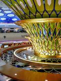Abu Dhabi International Airport Royalty Free Stock Photo