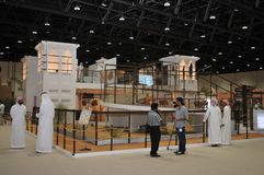Abu Dhabi International Hunting and Equestrian Exh royalty free stock photos