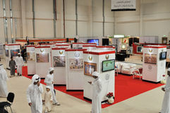 Abu Dhabi International Hunting and Equestrian Exhibition (ADIHEX) Royalty Free Stock Photo