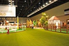 Abu Dhabi International Hunting och ryttareutställning (ADIHEX) - Abu Dhabi Equestrian Club Arkivbild