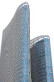 Abu Dhabi Investment Authority Tower-Nahaufnahme Lizenzfreie Stockfotos