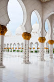ABU DHABI - JUNE 5: Sheikh Zayed Mosque Stock Images
