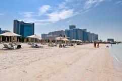 Abu Dhabi kapitał UAE Fotografia Stock
