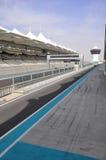 Abu Dhabi. La pista de la fórmula 1 Fotografía de archivo libre de regalías