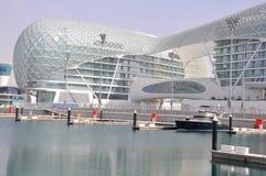 Abu Dhabi. La pista de la fórmula 1 Foto de archivo