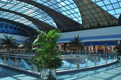 Abu Dhabi Marina Mall aux EAU Images stock