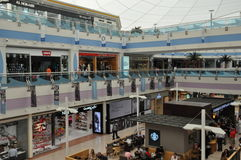 Abu Dhabi Marina Mall in den UAE Stockfoto