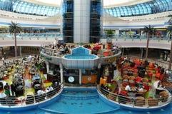Abu Dhabi Marina Mall i UAE Royaltyfria Foton