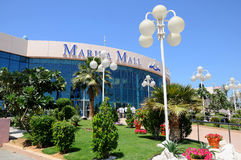 Abu Dhabi Marina mall shopping center Stock Image