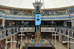 Abu Dhabi Marina Mall in the UAE Stock Photos