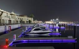 abu dhabi marina noc yas zdjęcie royalty free