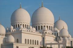 abu dhabi meczet Obrazy Royalty Free