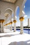 abu dhabi meczetowy biel obraz royalty free