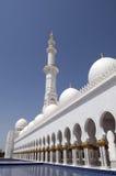 abu dhabi meczetowy sheikh zayed Obrazy Stock