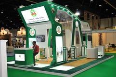 Abu Dhabi Międzynarodowy polowanie i Equestrian wystawa - Abu Dhabi Equestrian klub (ADIHEX) Fotografia Royalty Free