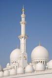 Abu Dhabi Mosque Royalty Free Stock Photos