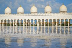 Abu Dhabi Mosque Photo stock