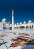 Abu Dhabi Mosque Lizenzfreie Stockfotos