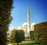Abu Dhabi Mosque Imágenes de archivo libres de regalías