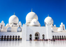 Abu Dhabi Mosque Royalty Free Stock Photos