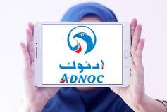 Abu Dhabi National Oil Company, ADNOC-Logo Lizenzfreie Stockbilder