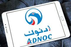 Abu Dhabi National Oil Company, ADNOC-Logo Lizenzfreie Stockfotografie