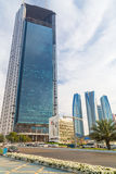 Abu Dhabi National Oil Company headquarters Royalty Free Stock Photo