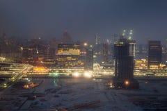 Abu Dhabi noc Zdjęcia Stock