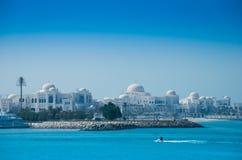 Abu Dhabi Palast Stockbild
