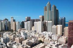 Abu Dhabi-Panoramablick Lizenzfreie Stockfotografie