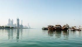 Abu Dhabi pejzaż miejski Fotografia Royalty Free