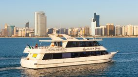 Abu Dhabi Pleasure Cruise Foto de archivo