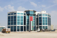 Abu Dhabi Ports Authority Building image stock