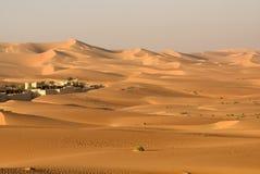 Abu Dhabi pustynia Zdjęcia Royalty Free