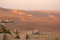 Abu Dhabi pustynia Obrazy Stock