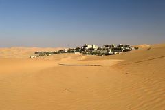 Abu Dhabi pustynia Zdjęcie Royalty Free