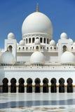 Abu Dhabi Scheich Zayed Mosque Stockfoto