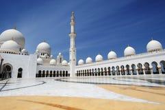 Abu Dhabi Scheich Zayed Mosque Stockfotografie