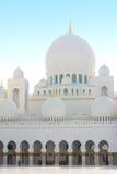 Abu Dhabi-Scheich Zayed, UAE Stockfoto