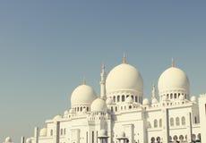 Abu Dhabi Sheikh-Moschee Stockbilder